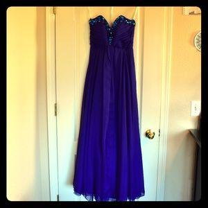 Sherri Hill Prom/Evening Strapless Dress